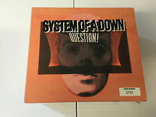 System Of A Down ‎– Question!  3 DISC CD DVD BOX SET RARE