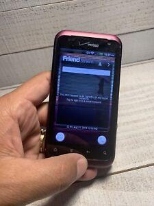 HTC Rhyme - 4GB - Plum (Verizon) Smartphone