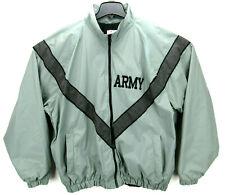 SKILCRAFT Men's Size XL Regular US Army Jacket Gray Reflective Material Nylon