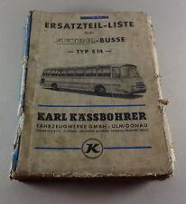 Catálogo de piezas/catálogo de repuestos Kässbohrer Setra bus s9/s10/s11/s12/s14