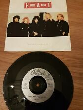 "HEART Who Will You Run To 1987 7"" Vinyls VG+"