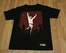 WWE Authentic Wear Patch Daniel Bryan 'YES' Wrestling Men's Black T-Shirt Sz S
