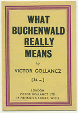 What Buchenwald Really Means