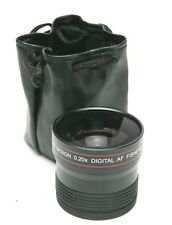 Precision Design 0.20x Digital AF Fisheye Full Frame Auxiliary Lens 58mm Thread.