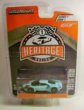 2017 '17 FORD GT BLUE HERITAGE RACING SERIES 1 GREENLIGHT DIECAST