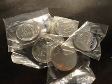 NICKEL ROUND BULLION -COIN- LOT OF 1- 1 OUNCE-random  99.5% PURE--SALE