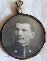 CADRE PHOTO MINIATURE de POILU - 1914-1918 - 114° regiment d'Infanterie