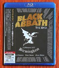 BLACK SABBATH – THE END   2 CD + 1 Blu-ray Set  Japan with OBI strip   SEALED