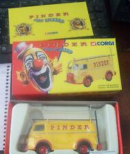CORGI 1/43 SCALE EX70626 - PINDER JEAN RICHARD PEUGEOT circus publicity van