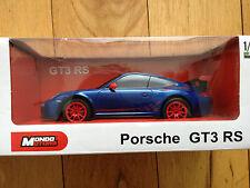 PORSCHE GT3 RS telecomando auto scala 1:24 Scatola Nuovo Di Zecca in