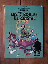 TINTIN - LES 7 BOULES DE CRISTAL - B38BIS - HERGE