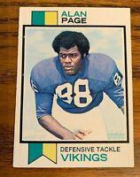 1973 Topps #30 Alan Page - Vikings