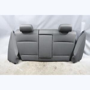 2008-2013 BMW E82 1-Series Coupe Rear Folding Seat Backrest Set Black Vinyl OEM