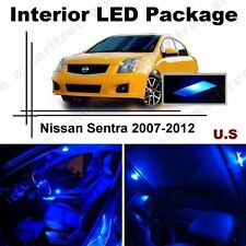 Blue LED Lights Interior Package Kit for Nissan Sentra 07-12 ( 6 Pieces )