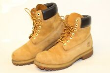 Timberland Mens 9 W Wheat Leather Lace Up Ankle Work Boots 10061 9140 cn