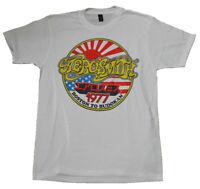 Aerosmith 1977 Boston to Budokan White Tee New Cotton T-Shirt S-234XL AA782