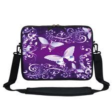 """Neoprene Laptop Bag w Hidden Handle & Shoulder Strap Fit Chromebook 11.6""""  767"""