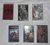 Cassette Tapes Lot Of 6 Classic Rock All Tested And Work Great Free Shipping