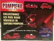 SOLIDO SUPERBE CATALOGUE LES VEHICULES DE SAPEURS POMPIERS BON ETAT
