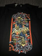 Anthrax Evil Twin Shirt XXL New with Tags Thrash Metal Rare