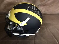 Jehu Chesson II Autograph Michigan Football Signed Mini Helmet Inscribed Chiefs