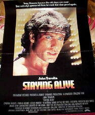 Cinema Poster: STAYING ALIVE 1983 (Mini) John Travolta