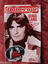 ▬► Catalogue Dialoscope  de 1983 Serge Lama_Dire Straits