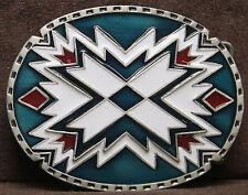 South West Pattern Belt Buckle