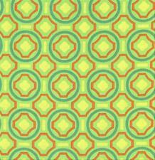 Anna Maria Horner Garden Party Fabric Dance Floor Green AH14 100% Cotton