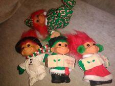 "Lot of Russ 5"" Trolls. Christmas"