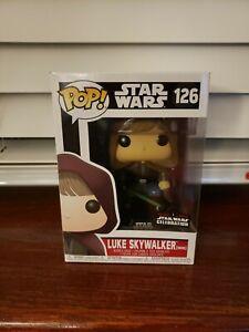 Funko Pop! Star Wars Luke Skywalker (Hood) #126 Star Wars Celebration Exclusive
