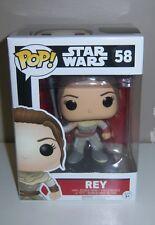FUNKO POP Star Wars Rey #58 Vinyl Bobble-Head - NEW IN BOX