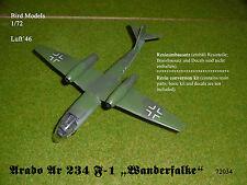 "Arado Ar 234 F-1 ""Wanderfalke"" 1/72 Bird Models Resinumbausatz / conversion  kit"