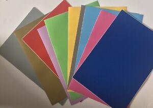 A4 Sheet Vinyl Permanent Gloss Cricut Personalised x 10 Sheets Custom pack