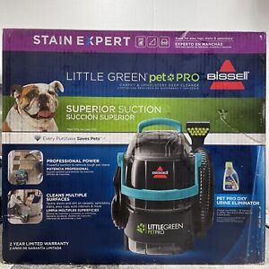 Bissell Little Green Pet Pro Portable Carpet & Upholstery Deep Cleaner 28912 NEW