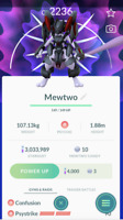REGISTERED TRADE - Po Go Armored Mewtwo - Psystrike -*See Description*