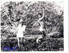 Barry Evans barechested, VINTAGE Photo Here We Go Round The Mulberry Bush