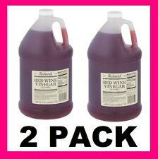 2 PACK Roland Red Wine Vinegar 1 gal Bottles Salad Dressings Marinade 2pk Family