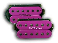 Dragonfire Guitars SCREAMERS Humbucker Pickup SET, Bridge&Neck HH Pups HOT PINK!