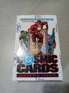 1991 DC Comics Cosmic Cards Inaugural Edition Factory Sealed (New)