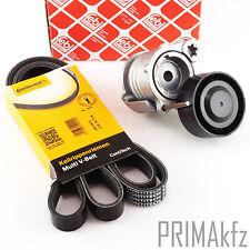 Conti 6PK1836 Correa Trapezoidal + Febi Tensor de BMW 1er 3er E87 E90 E92 E93