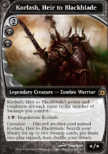 1x Korlash, Heir to Blackblade Light Play, English Future Sight MTG Magic
