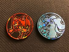 Pokemon Litten & Alolan Ninetales Team Up Blister Pack Collector COINS