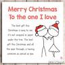 Christmas Card For Husband Wife Boyfriend Girlfriend Parter Love Lover Romantic