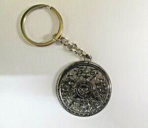 Tomb Raider Dark Nickel Plated Metal Key Ring/Chain