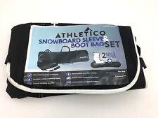 Snowboard Sleeve & Boot Bag   Black   Athletico (JK05)