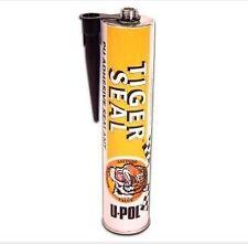 Genuine U-POL Tiger Seal Polyurethane - Black - 310ml x3