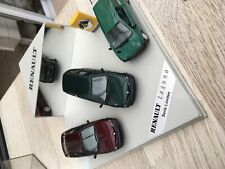 Modelauto Renault set Laguna 2x plus twingo in showroom box 1 op 43 vitesse soli