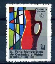 SPAIN - SPAGNA - 1966 - Poster - Valencia. 2a fiera della ceramica e del vetro