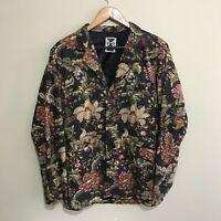 Revival Floral Flowers Dangerfield Blazer Jacket Mens Large